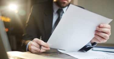 Documentos para contemplação no consórcio