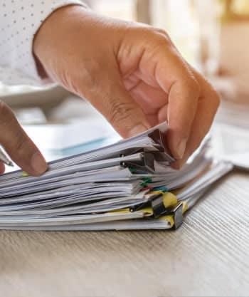 Documentos para contemplação no consórcio solicitados