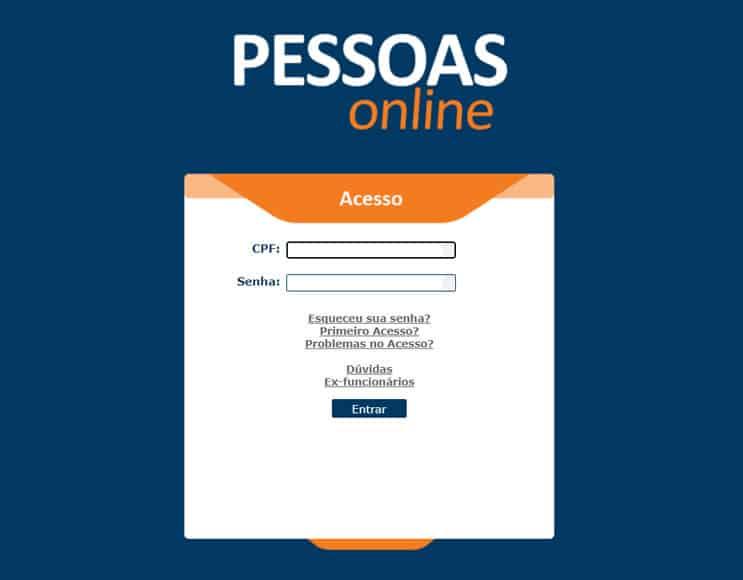 Pessoas Online Atento login